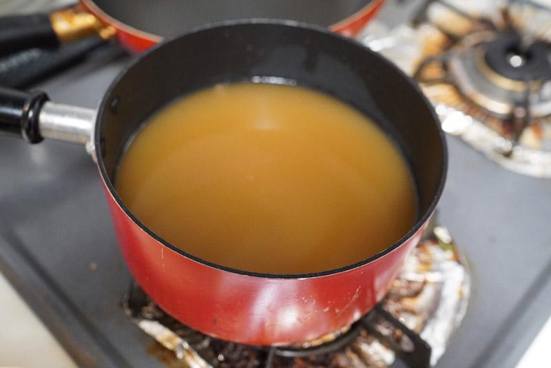 大豆のゆで汁