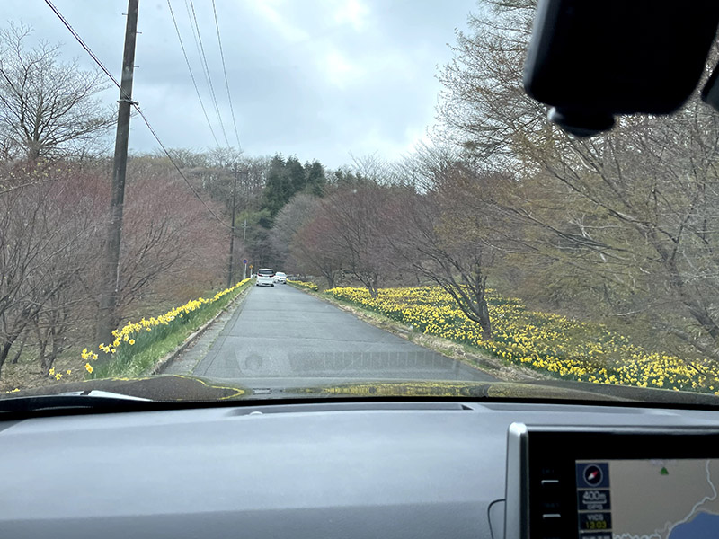 榛名湖のまわりをドライブ